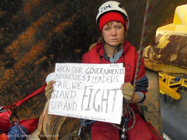 Protest gegen Shells Arktis-Bohrungen geht in eine nächste Runde