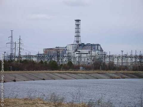 Der Tschernobyl-Sarkophag 2011