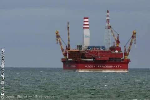 Gazprom-Ölbohrungen in der Arktis: Gefährlich, unverantwortlich, illegal