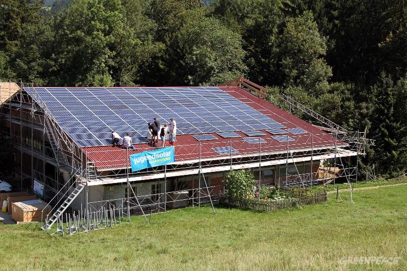 GLB-Photovoltaikanlage in Langnau