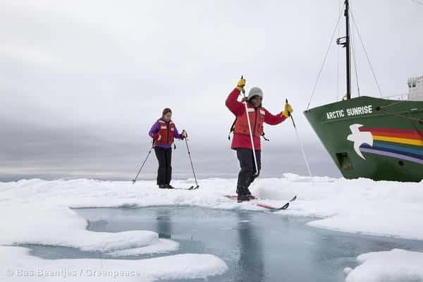 Greenpeace schickt Schiff in die Arktis