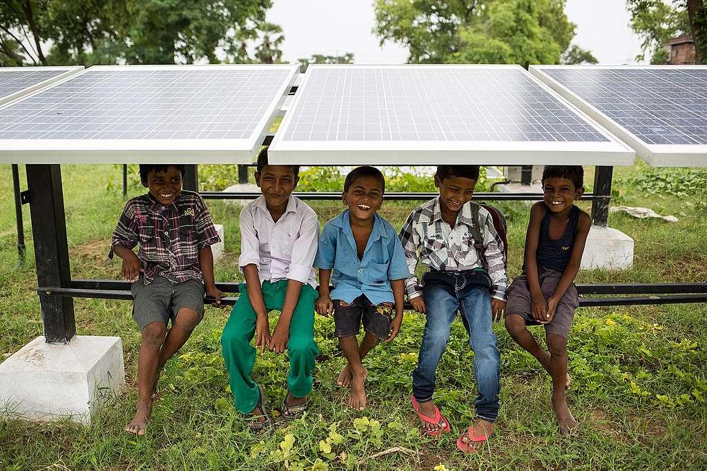 Neue Energie für Dharnai