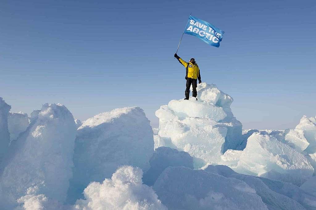 Les luttes de Greenpeace pour l'Arctique