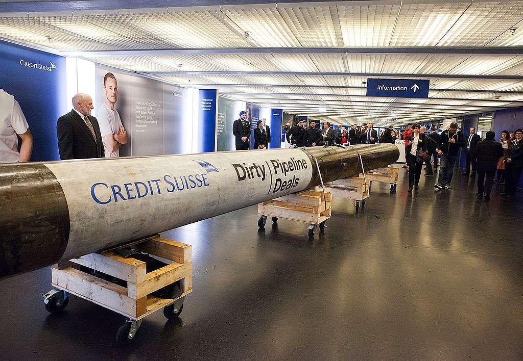 Höchste Zeit für Verzicht auf dreckige Pipeline-Deals bei der Credit Suisse