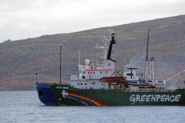 Angeblicher Drogenfund: Greenpeace International weist Anschuldigungen zurück