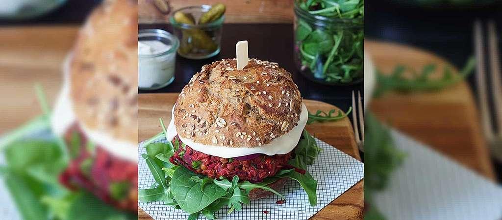 Recettes pour le climat: Burger de betteraves rouges