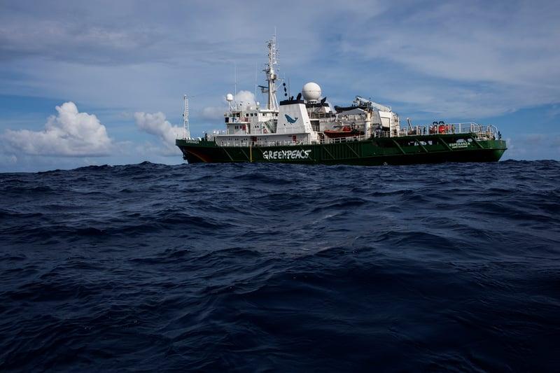Greenpeace Expedition-Amazonas-Riff – Woche 1