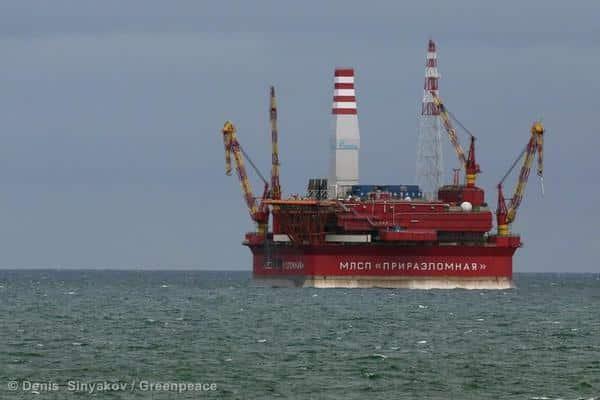 Gazprom startet Ölbohrung in der Arktis
