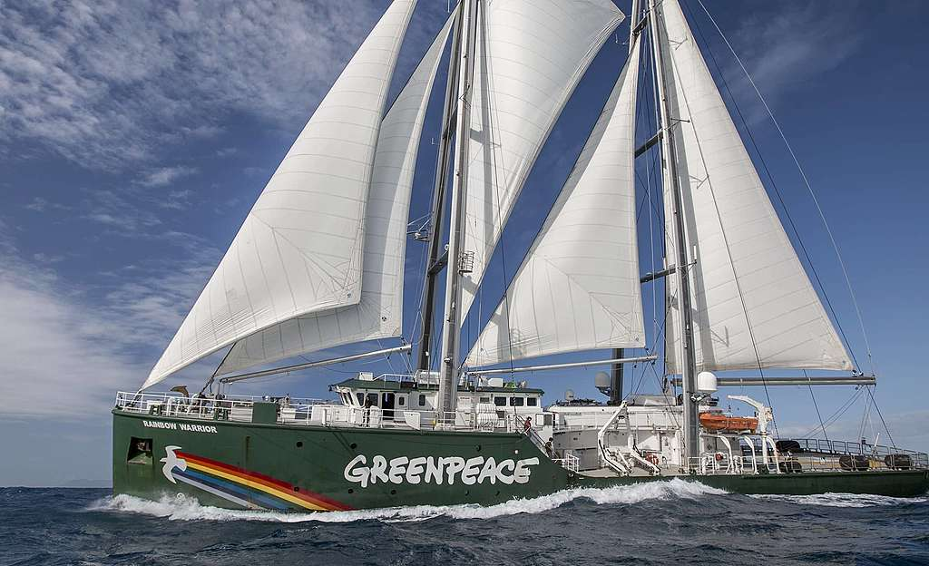 Greenpeace-Schiff Rainbow Warrior II