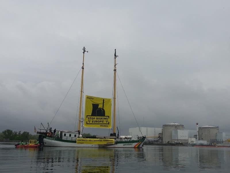 28 Jahre nach Tschernobyl: Schiffstour gegen Altreaktoren in Europa