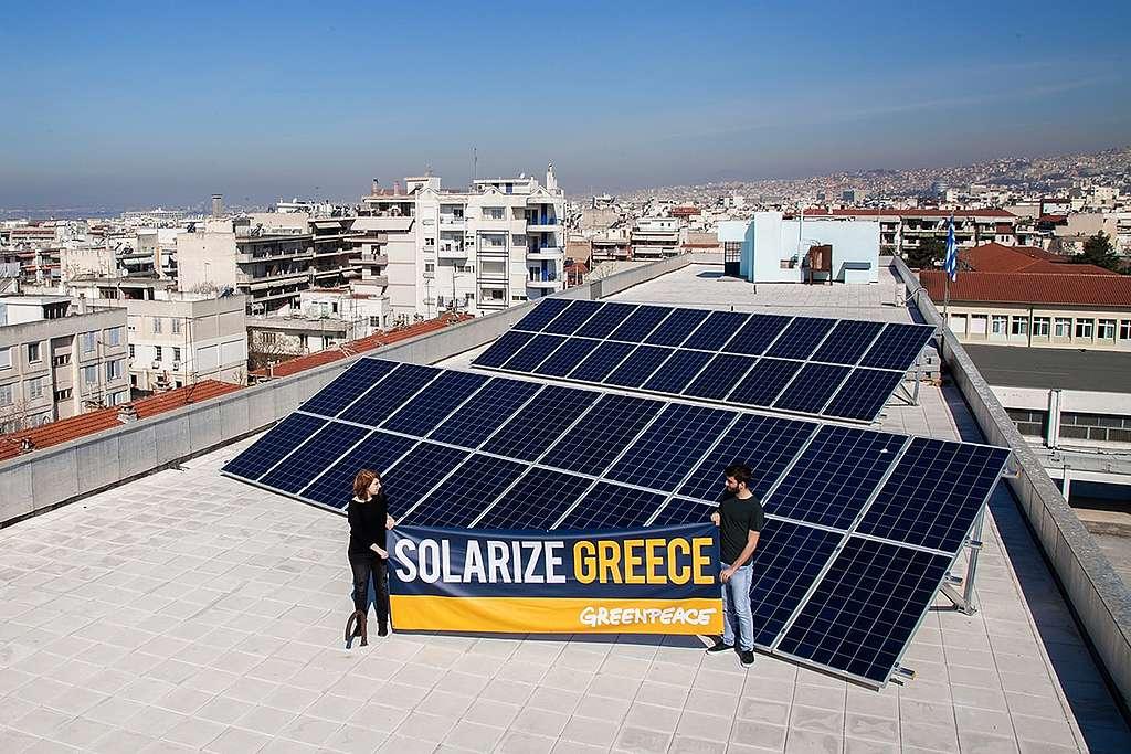 Für ein Griechenland, das auf die Sonne baut