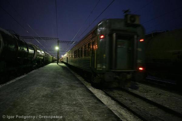 Arctic 30 werden nach St. Petersburg verlegt