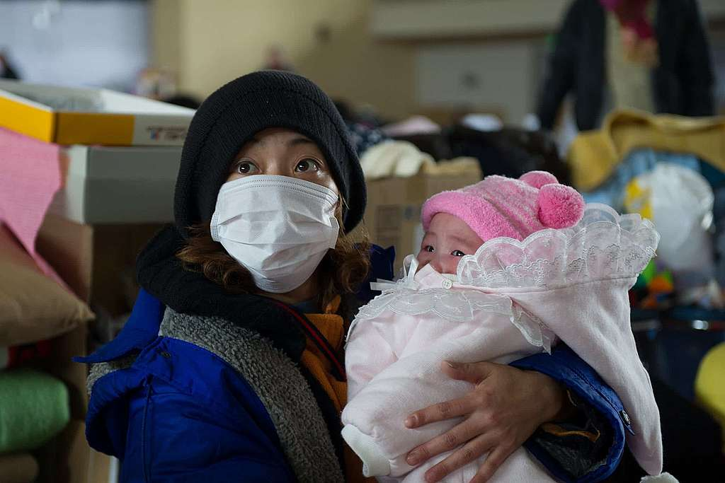 Das grosse Leiden der Frauen und Kinder von Fukushima