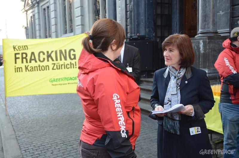 Über 2000 Stimmen gegen Fracking im Kanton Zürich