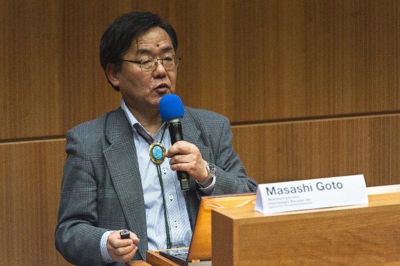 Der Nuklearingenieur Masashi Goto