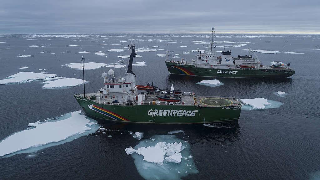 Auf Tour in der Arktis