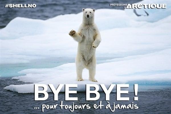 Shell abandonne les forages en Arctique!