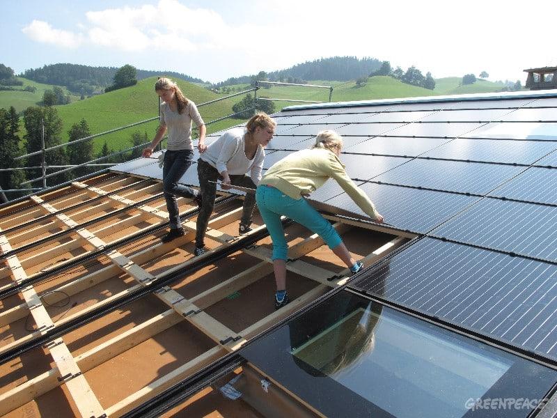 Jugendsolar-Projektwochen in Burgdorf und Langnau