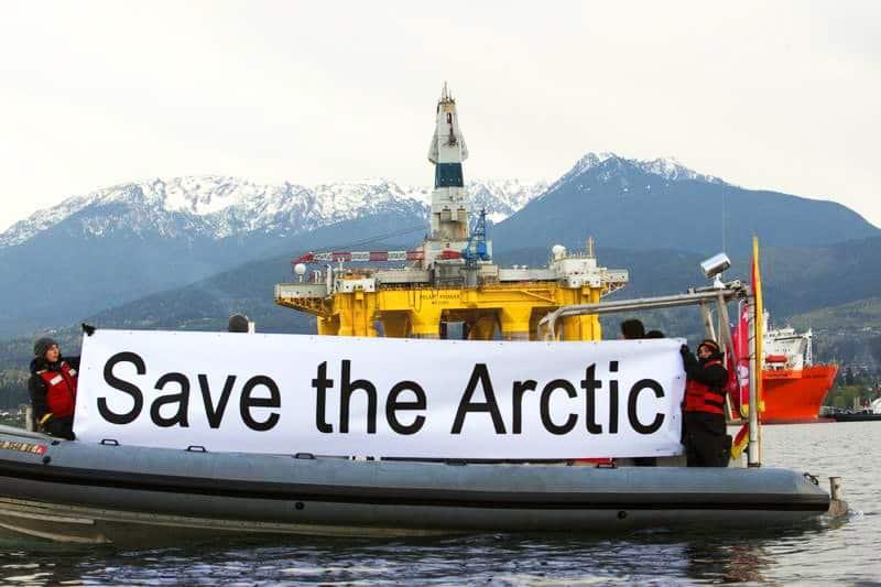 Protégeons l'Arctique: Shell reçoit le feu vert pour piller l'Arctique