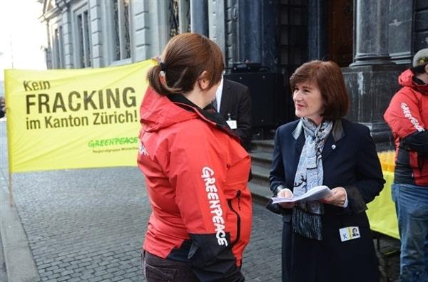 Zurich: plus de 2000 voix contre la fracturation hydraulique