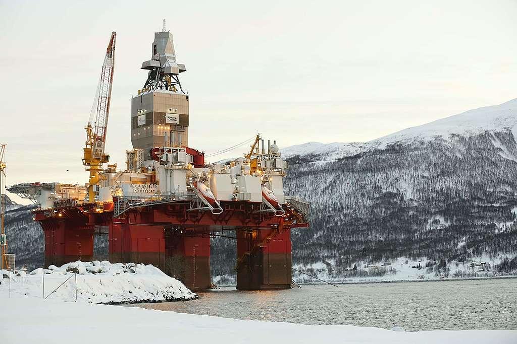 Pétrole de l'Arctique: nous irons au Tribunal!