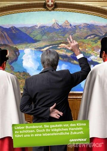 Studie deckt leere Klima-Versprechungen des Bundesrates auf