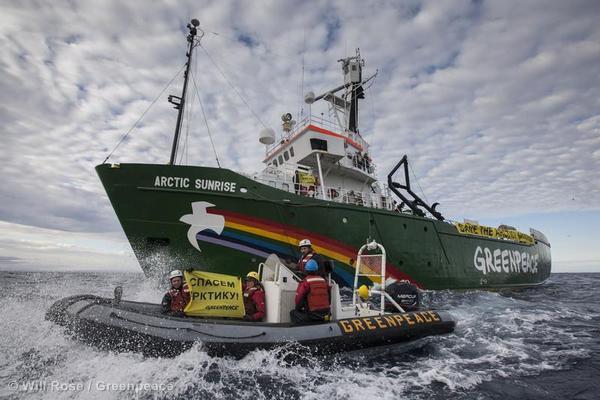 Russland verbietet Greenpeace-Schiff Weiterfahrt durch arktische Gewässer