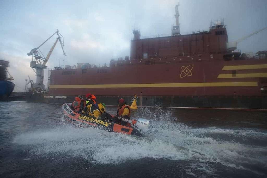 AKW auf dem Wasser: Das Risiko schwimmt mit
