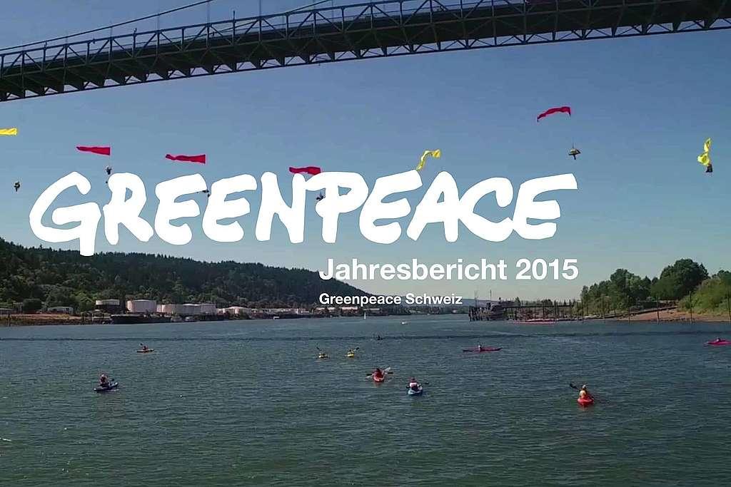 Greenpeace Jahresbericht: Das war 2015