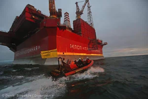Erstes arktisches Öl soll bald nach Europa geliefert werden