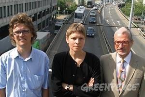 Betroffene und Greenpeace leiten Schritte für «Recht auf gute Luft»-Klagen ein