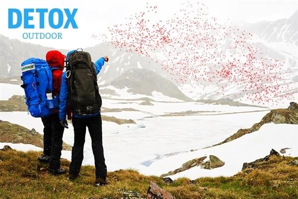 Detox Outdoor: ensemble, déplaçons des montagnes
