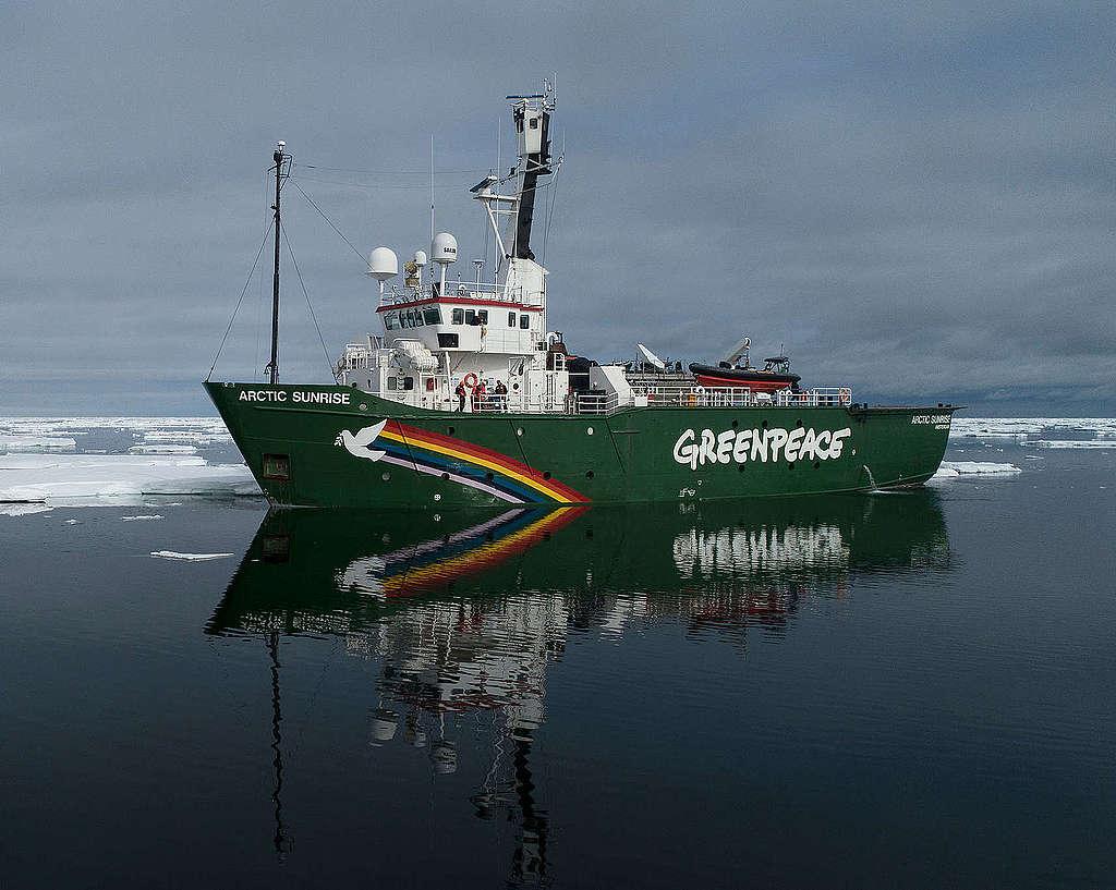 Greenpeace-Schiff Arctic Sunrise