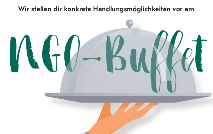 NGO-Buffet – finde dein Engagement