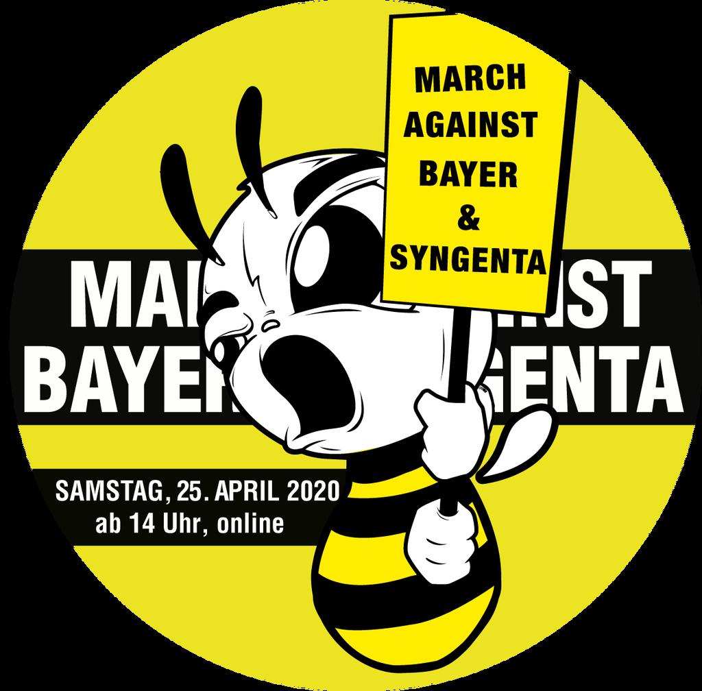 March against Bayer & Syngenta