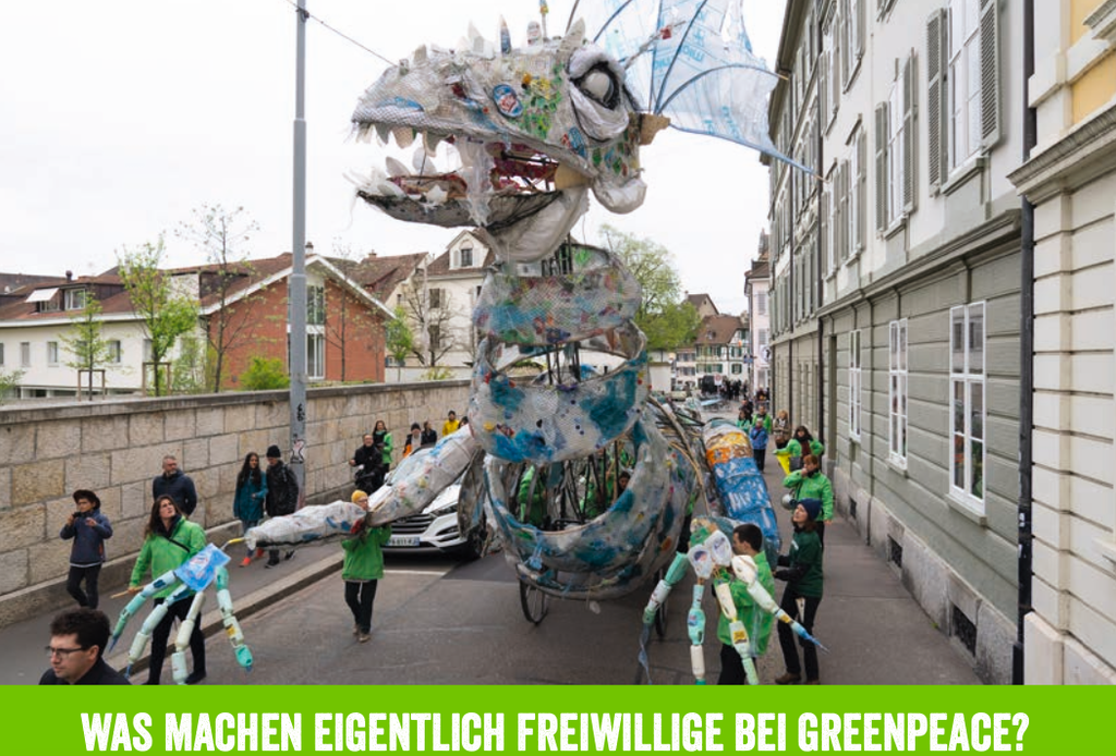 Engagier dich mit Greenpeace!