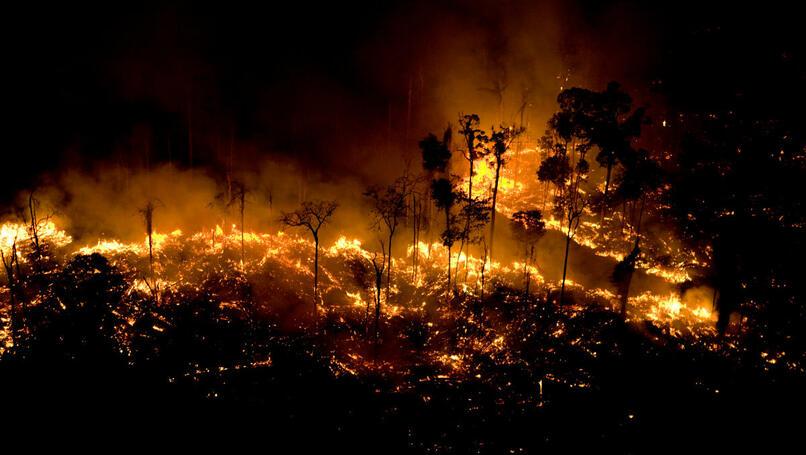 Waldbrände flammen auf