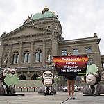 Climat: Greenpeace attaque les autorités de surveillance de la place financière