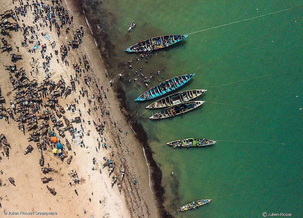 Fischklau vor Westafrika