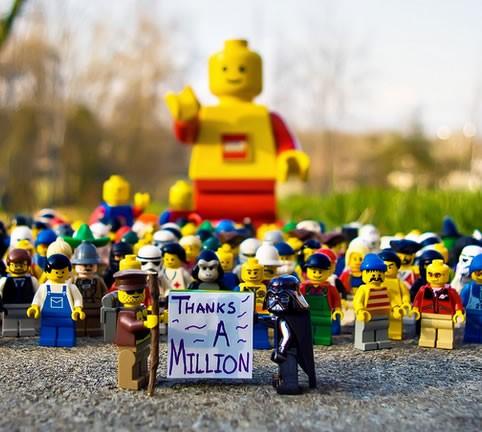 百萬人寄電子郵件給樂高 lego
