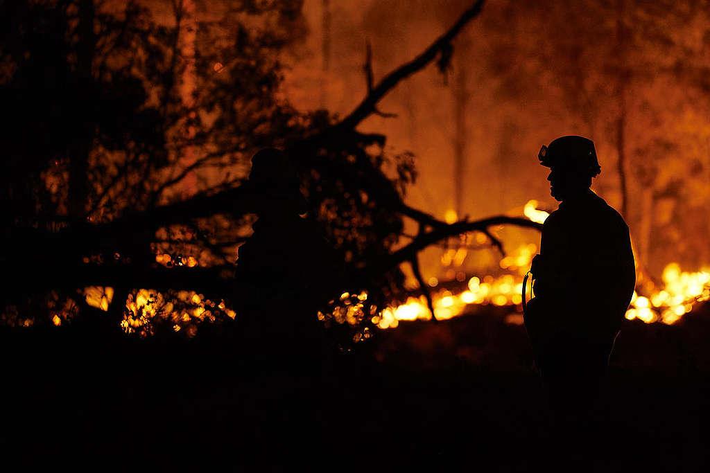 澳洲遭受超過四個月的失控大火,已造成嚴重損失,顯示氣候變遷正在眼前上演。