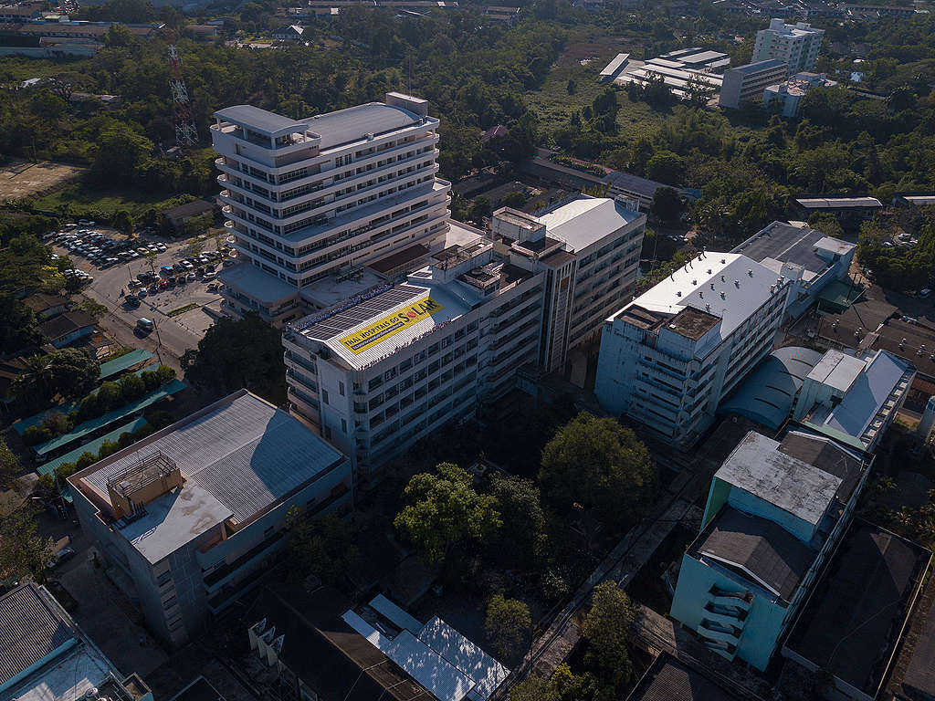 泰國第七間太陽能醫院「Prapokklao醫院」正式啟用。