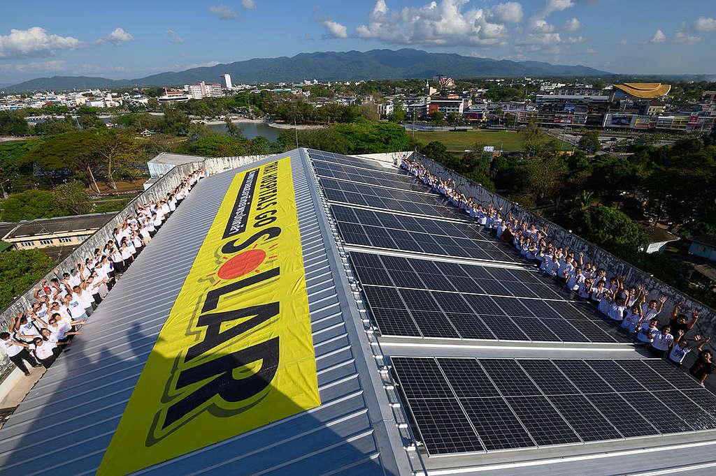 建置太陽能板能減輕醫院開銷的負擔,更是支持能源轉型的行動。