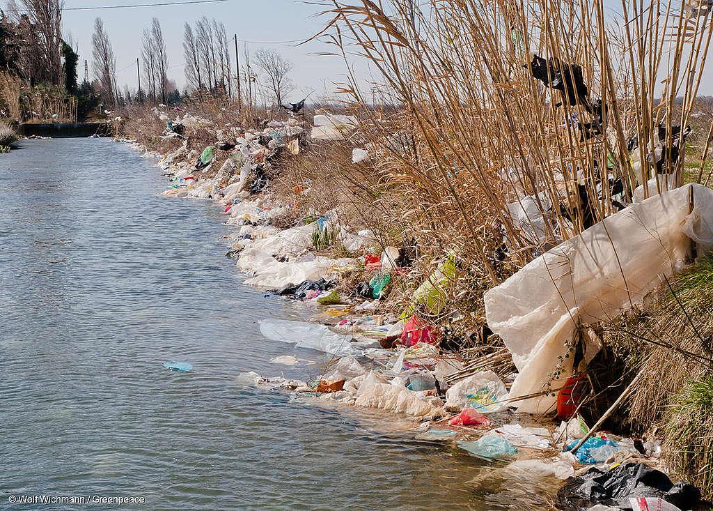 大量塑膠進入自然環境,甚至成為微塑膠出現在空氣、土壤、海洋中。