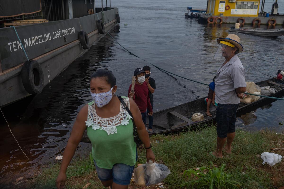 位於亞馬遜州的São Gabriel da Cachoeira市,堪稱為最有原住民氣息的地區。截至6月24日,已有2,592例確診人數,在這個醫療資源較缺乏的土地,不應再面對更多生存風險。