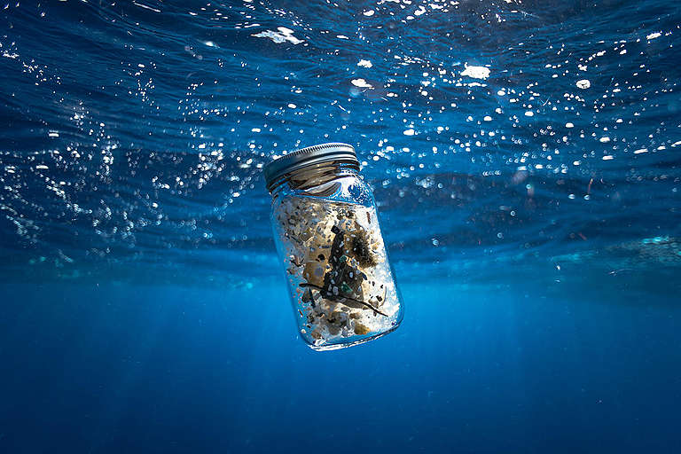 Plastic Found in the Great Pacific Garbage Patch. © Justin Hofman / Greenpeace