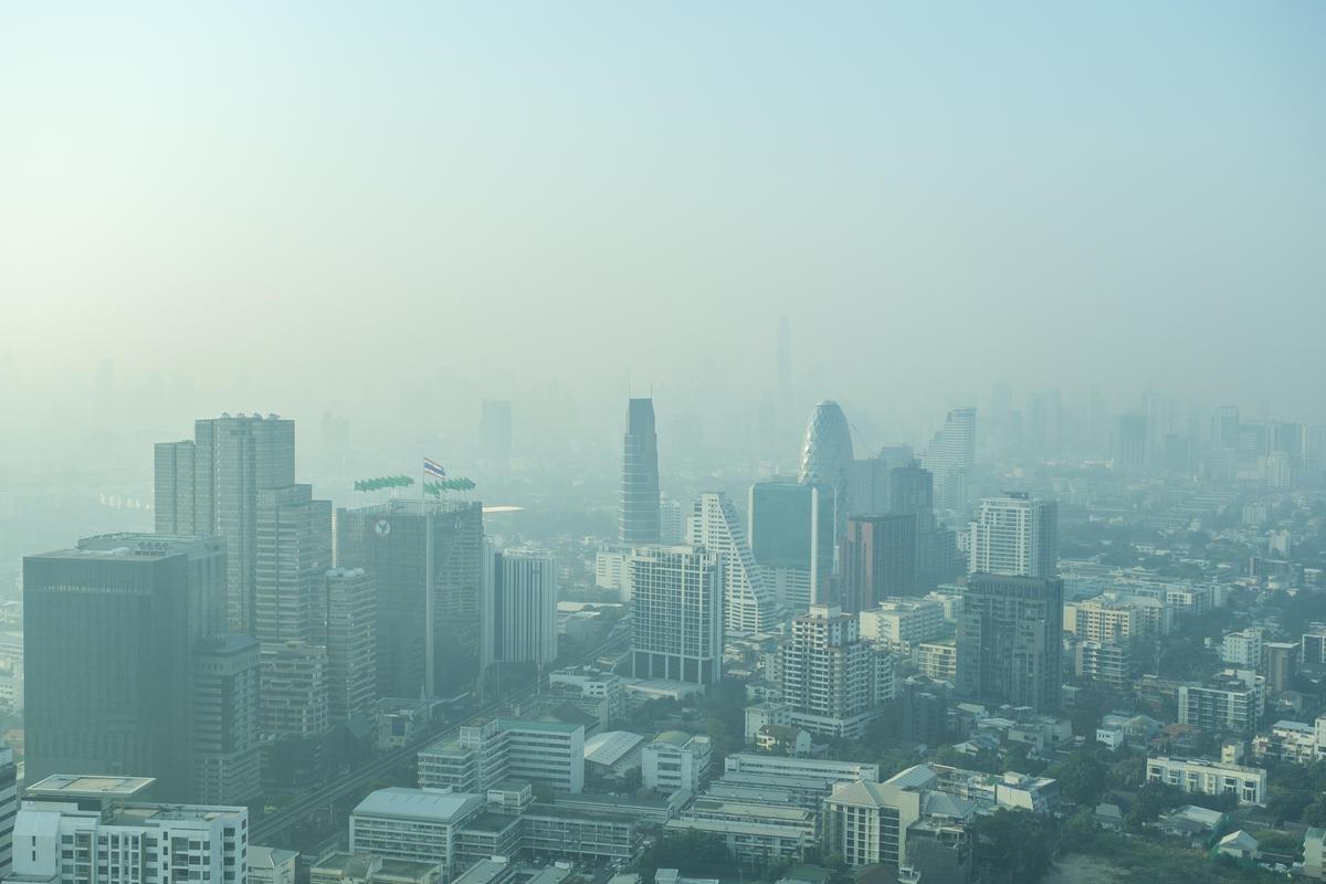 Bangkok Choking on Toxic Smog.