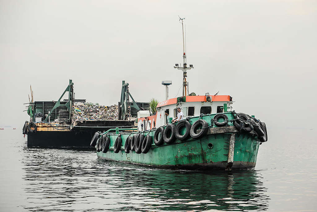 Plastic Waste Protest in Manila Bay  Jilson Tiu  Greenpeace