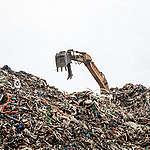 Illegal Plastic Waste Dump Site in RuralUiseong, S. Korea. © Soojung Do / Greenpeace