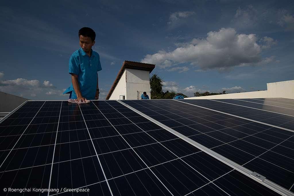 Solar Rooftop in Sri Sang Tham School